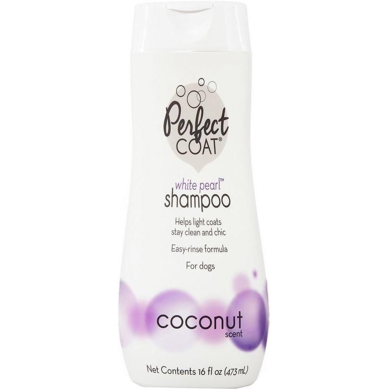 "Perfect Coat (Перфект Коат) by 8in1 ""White Pearl"" Dog Shampoo - Шампунь ""Белая жемчужина"" для собак светлых окрасов"
