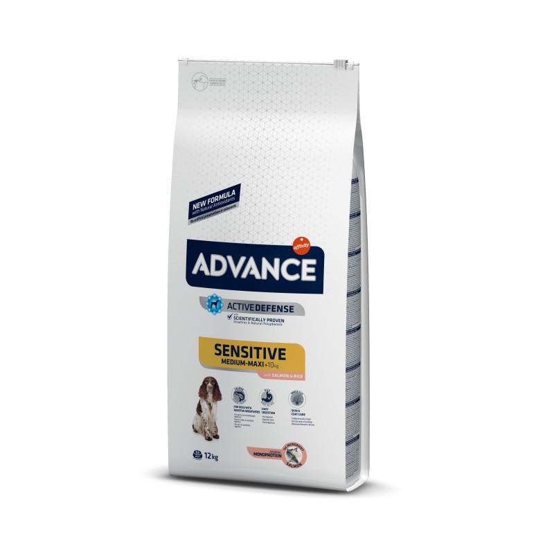 Advance (Эдванс) Dog Sensitive Medium/Maxi Корм для собак с чувствительным пищеварением