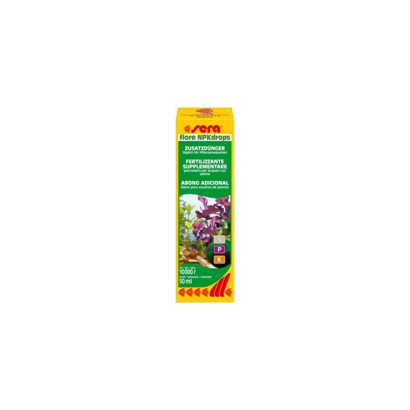 Удобрение SERA FLORE NPK-DROPS для аквариумных растений