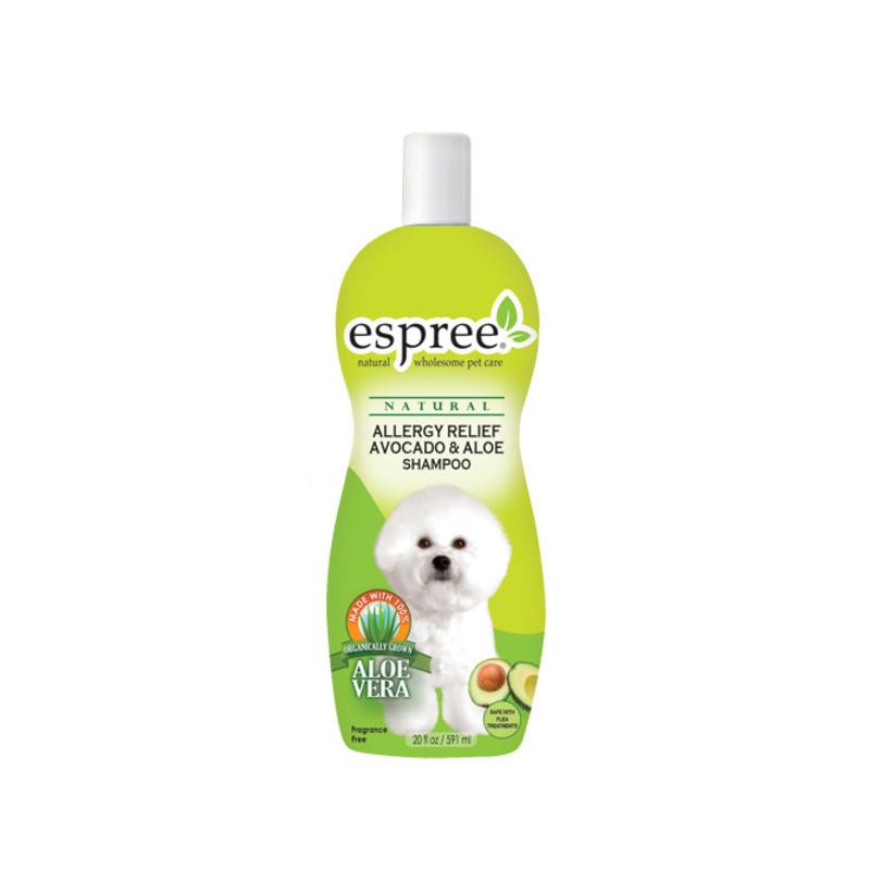 ESPREE (Эспри) OralAllergy Relief Avocado & Aloe Dog Shampoo - Шампунь для чувствительной кожи с маслом авокадо и алое вера