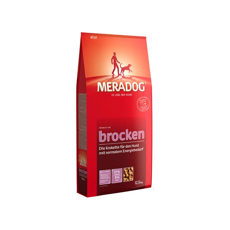 Сухой корм-крокеты Meradog Brocken для взрослых собак с нормальной физической активностью