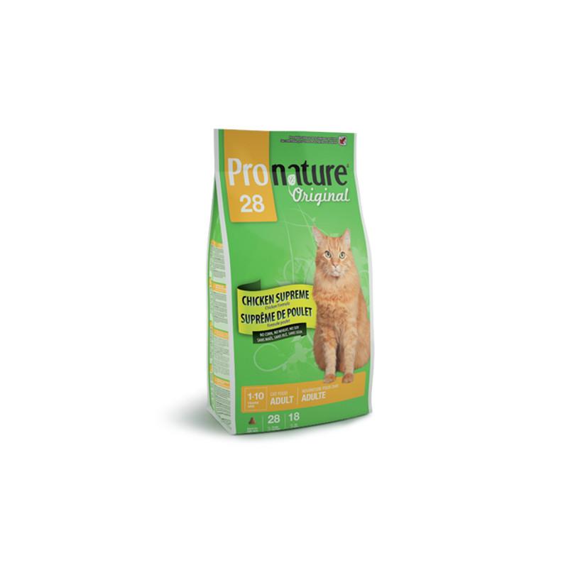 Pronature Original (Пронейчер Оридженал). Сухой корм с курицей для взрослых кошек