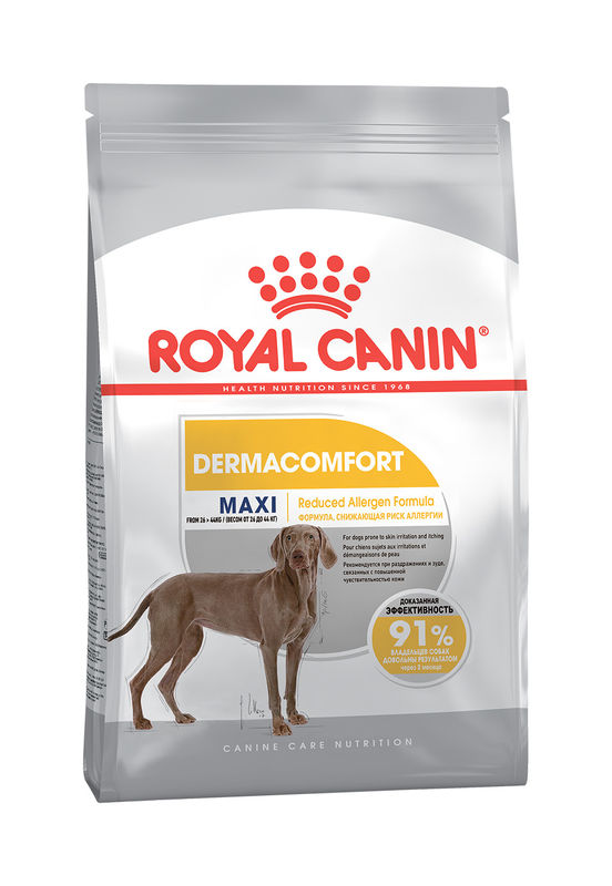 Royal Canin Maxi Dermacomfort для собак с проблемной кожей