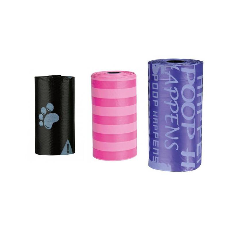 Trixie (Трикси) Набор одноразовых пластиковых пакетов для уборки за собаками
