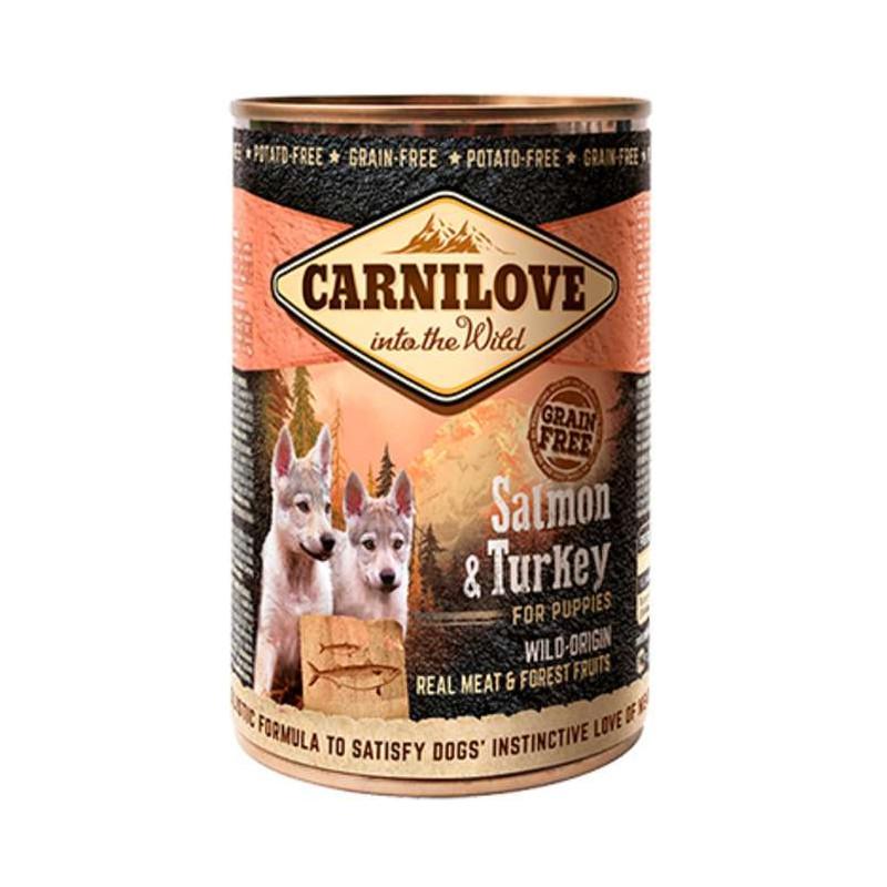Carnilove (Карнилав ) Dog PUPPY SALMON & TURKEY Консервы для щенков с лососем и индейкой