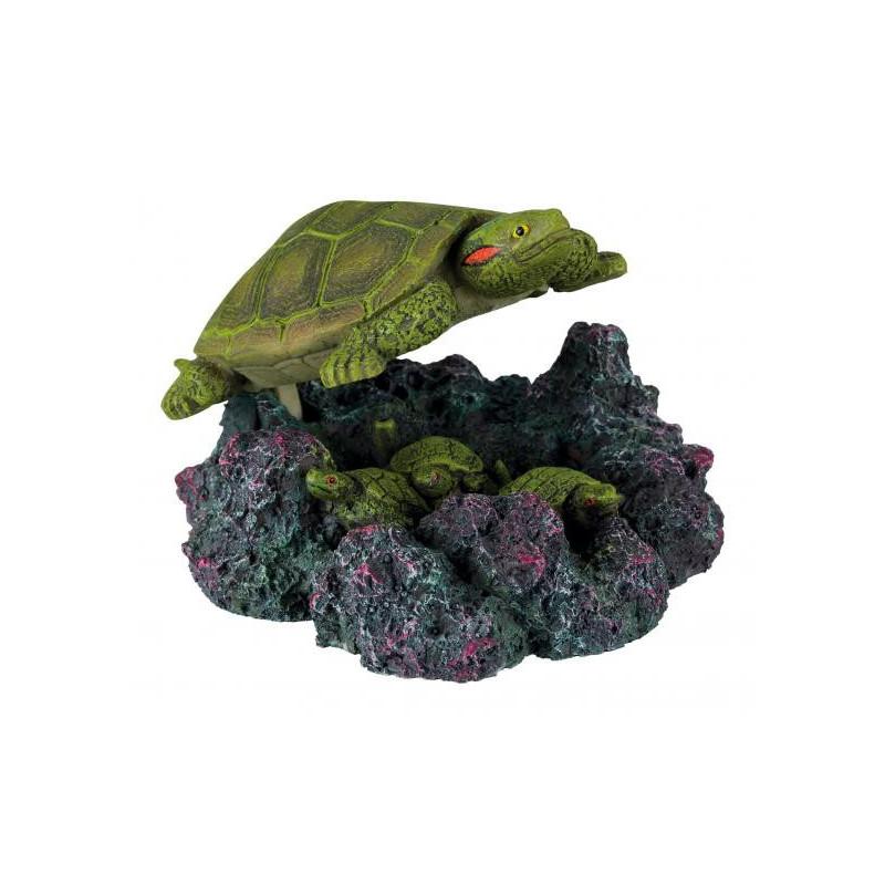 Черепаха TRIXIE для декора аквариума с распылителем