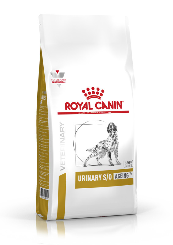 Royal Canin (Роял Канин) Urinary S/O Ageing 7+ - Сухой корм для собак старше 7 лет при заболеваниях мочевыделительной системы