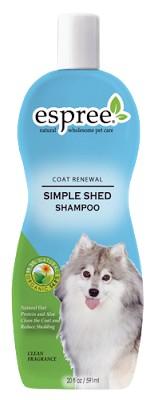 "ESPREE (Эспри) Simple Shed Shampoo - Шампунь во время линьки ""Без слёз"" для собак и кошек - Фото 2"