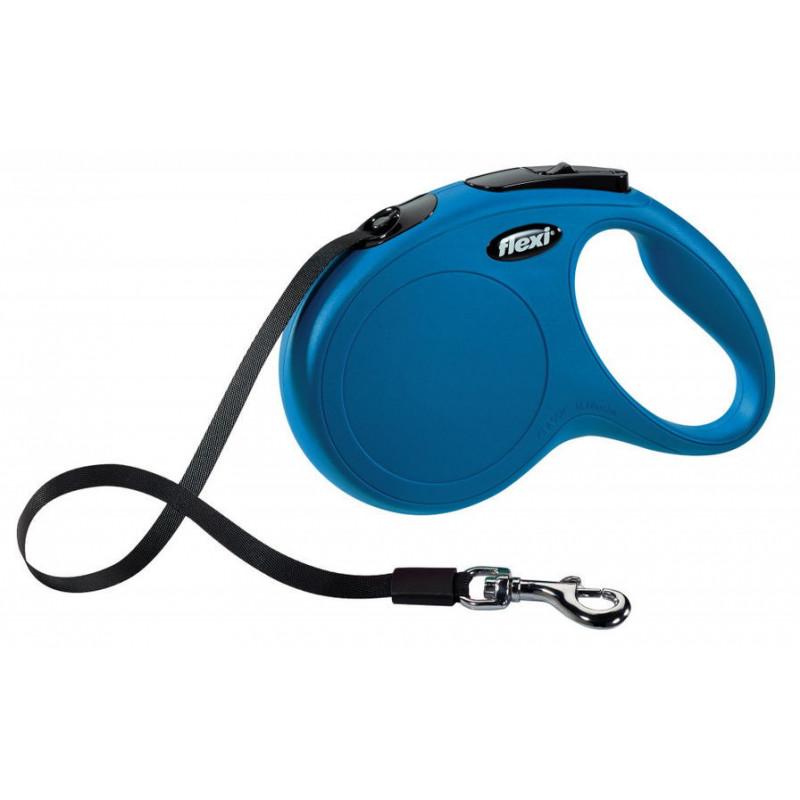 Flexi (Флекси) New Classic L - Поводок-рулетка для собак, лента (5 м, до 50 кг)