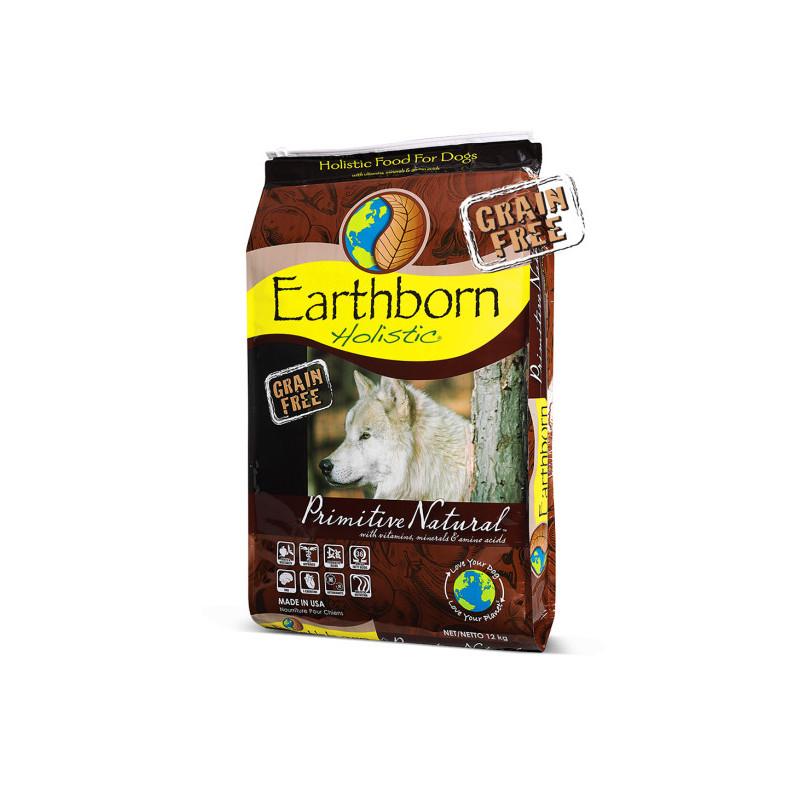 Earthborn Holistic ((Эрсборн Холистик) Dog Primitive Natural - Сухой беззерновой корм с курицей для собак на всех стадиях жизни