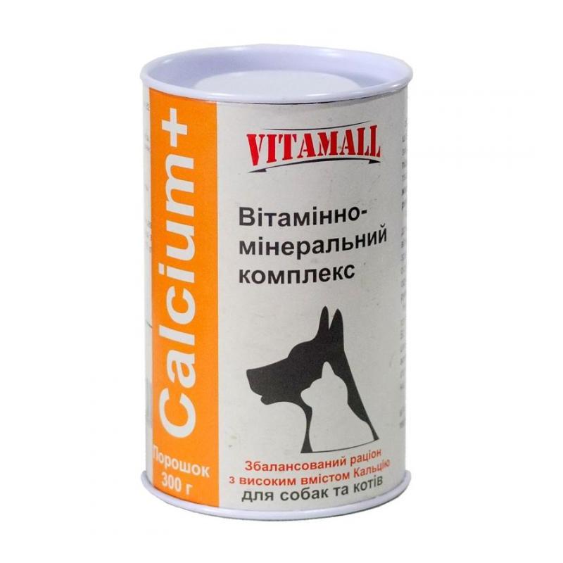 VitamAll (Витамол) Calcium+ витамины для собак и кошек