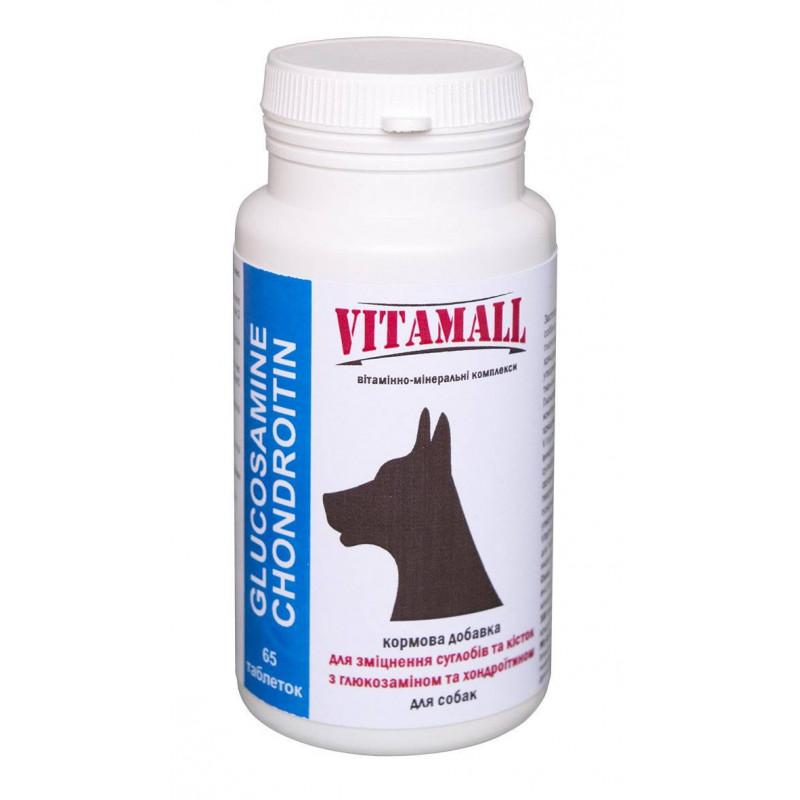 VitamAll (Витамол) Glucosamine Chondroitin Витамины для суставов и костей собак