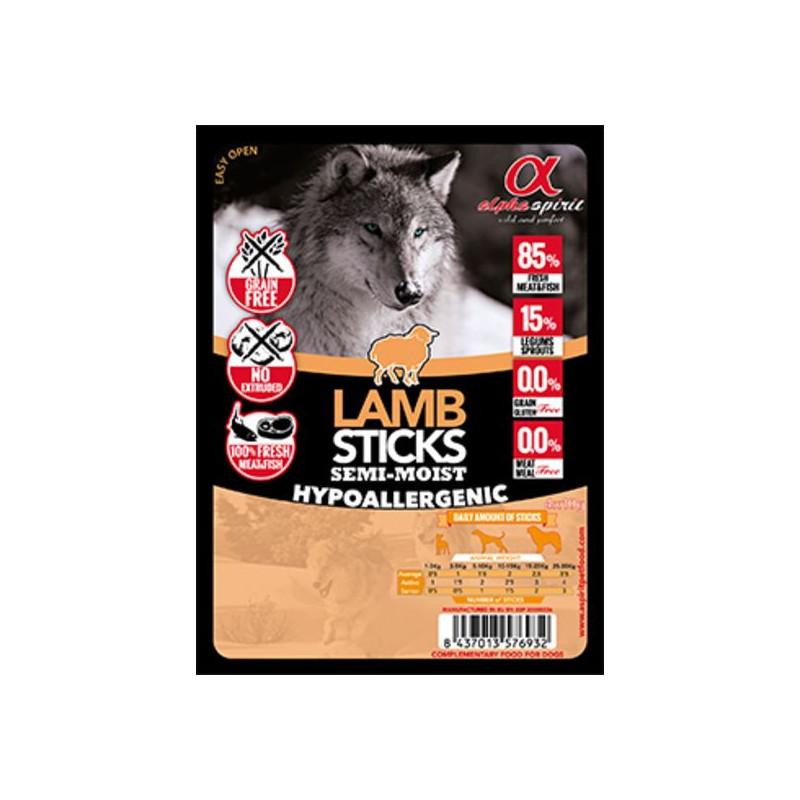 Alpha Spirit (Альфа Спирит) Sticks Lamb&Chicken - полувлажное лакомство для собак, палочки с ягненком и курицей