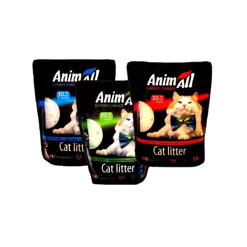 AnimAll силикагелевый наполнитель для кошачьего туалета