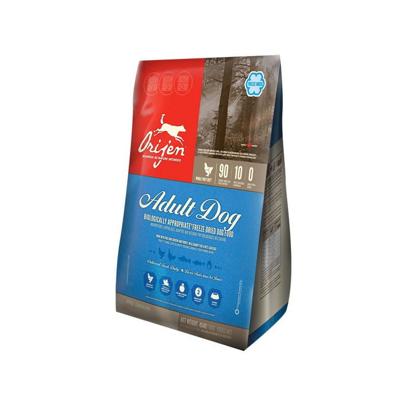 Orijen (Ориджен) Adult Freeze-Dried - Сублимированный корм с мясом цыплят и индейки для взрослых собак