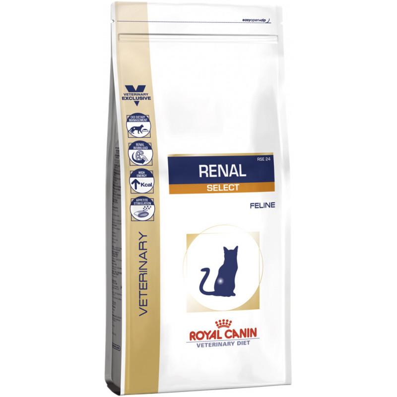 Royal Canin (Роял Канин) RENAL SELECT - Сухой лечебный корм при почечной недостаточности для взрослых кошек