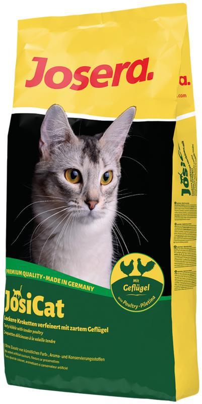 JosiCat (ЙозиКэт) by Josera Gefluegel - Сухой корм с нежным мясом домашней птицы для котов