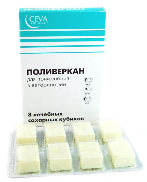 Ceva (Сева) Поливеркан - Антигельминтные таблетки для собак