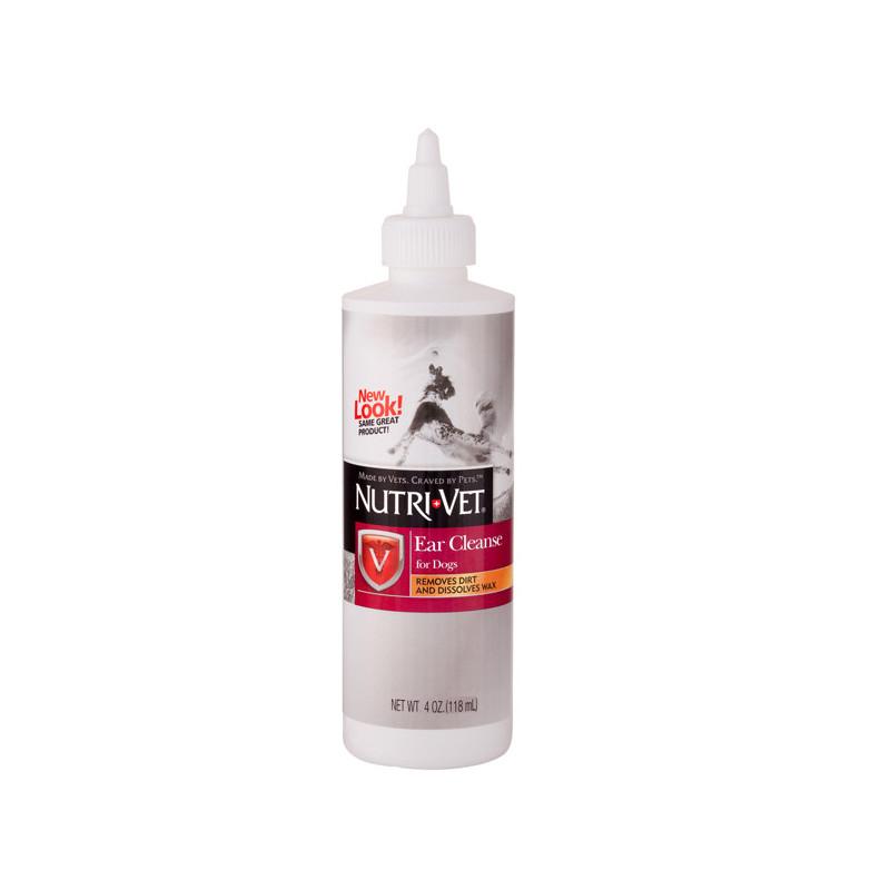 Nutri-Vet Ear Cleanse (Нутри-Вет) Чистые уши - капли ушные для собак