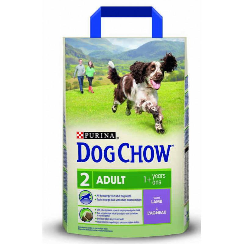 Dog Chow (Дог Чау) Adult Lamb Сухой корм для взрослых собак с ягненком