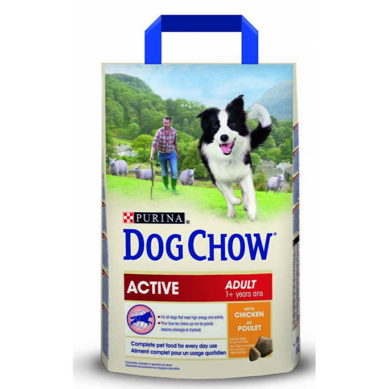 Dog Chow (Дог Чау) Active Сухой корм для активных взрослых собак