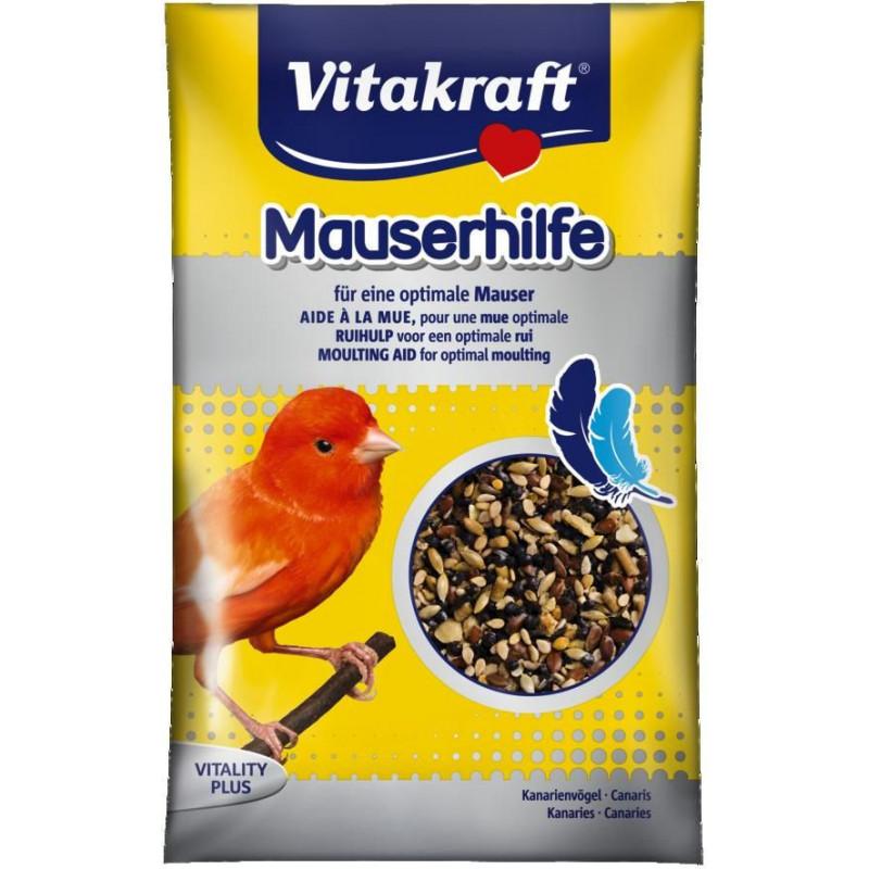 Витаминная добавка VITACRAFT MAUSERHILFE для канарек и лесных птиц в период линьки