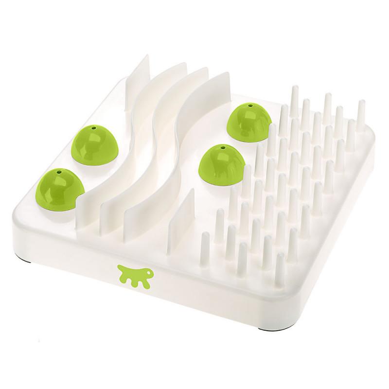 Интерактивная игрушка пластик Ferplast Explorer  для кошек и собак с тайниками для лакомства