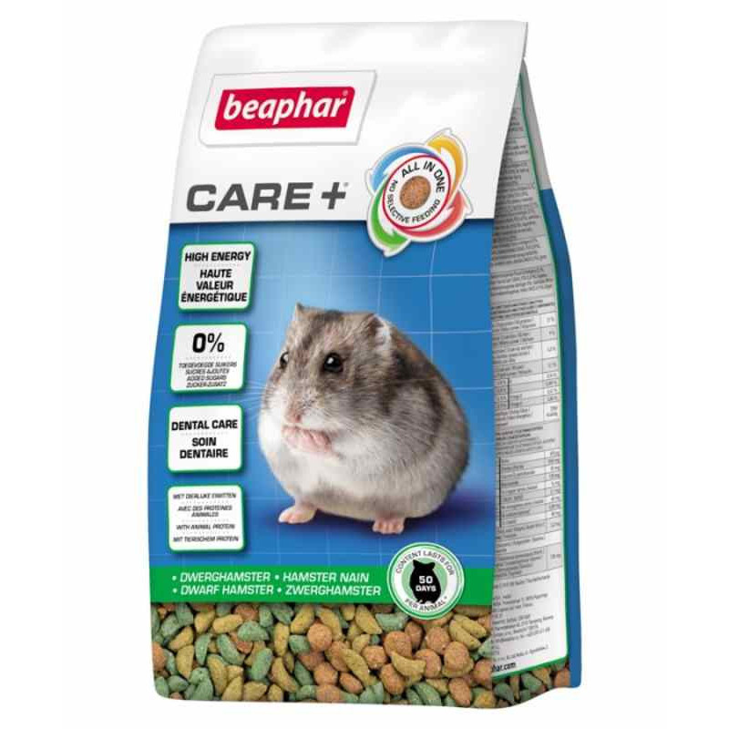 Beaphar Care+ корм для джунгарских хомяков