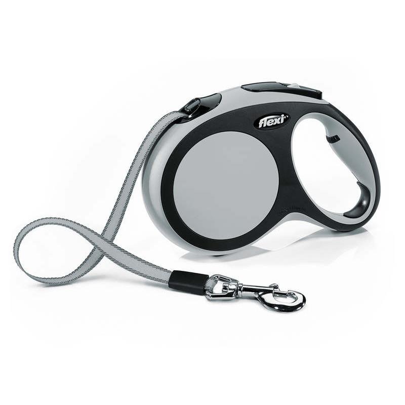 Flexi (Флекси) New Comfort L - Поводок-рулетка для собак крупных пород, лента (5 м, до 60 кг)