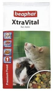 Beaphar XtraVital Rat Food корм премиум-класса для декоративных крыс
