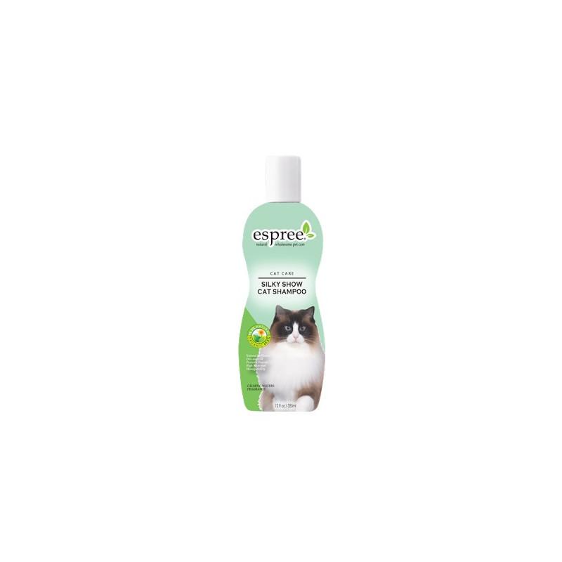 Шампунь Silky Show Cat Shampoo выставочный шампунь для кошек с маслом сафлоры