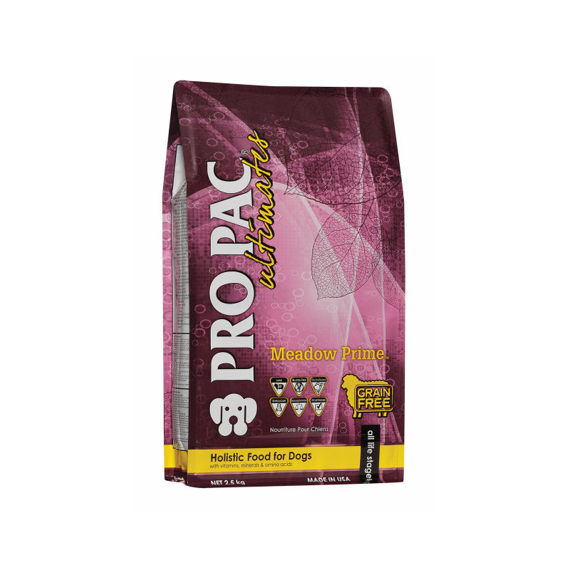 Сухой корм PRO PAC DOG Ultimate Meadow Prime для собак