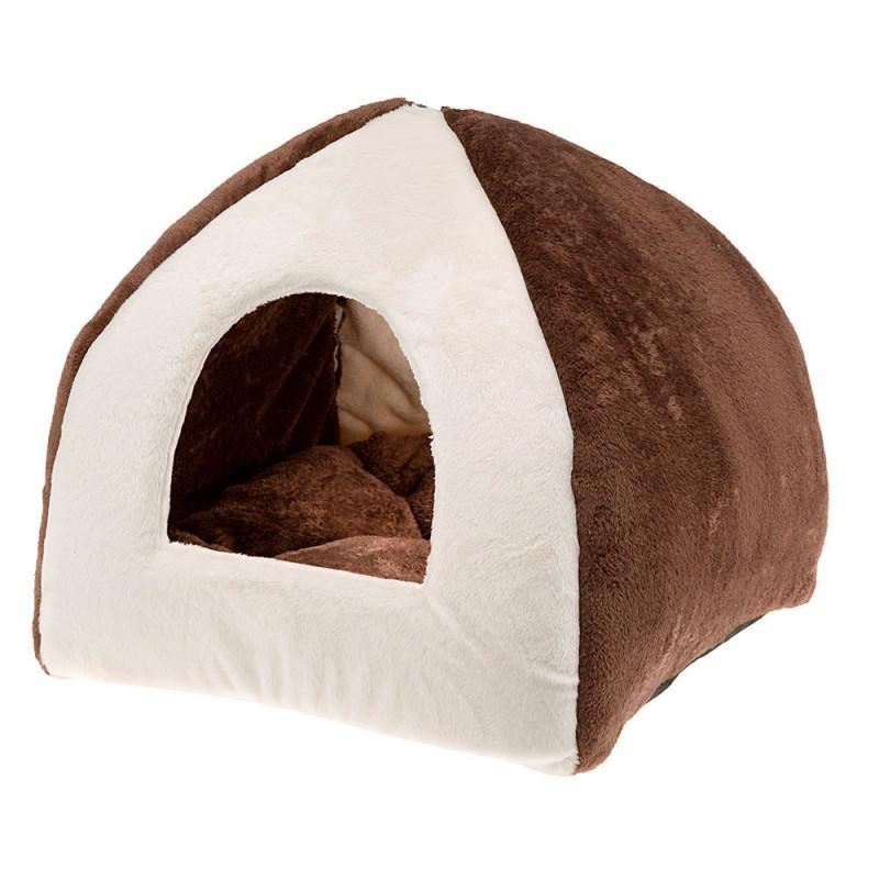 Спальный домик-юрта FERPLAST Tipi для котов и собак маленьких пород