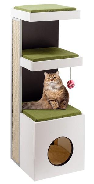 Ferplast (Ферпласт) Tiger - Домик для кошки с полочками - Фото 3