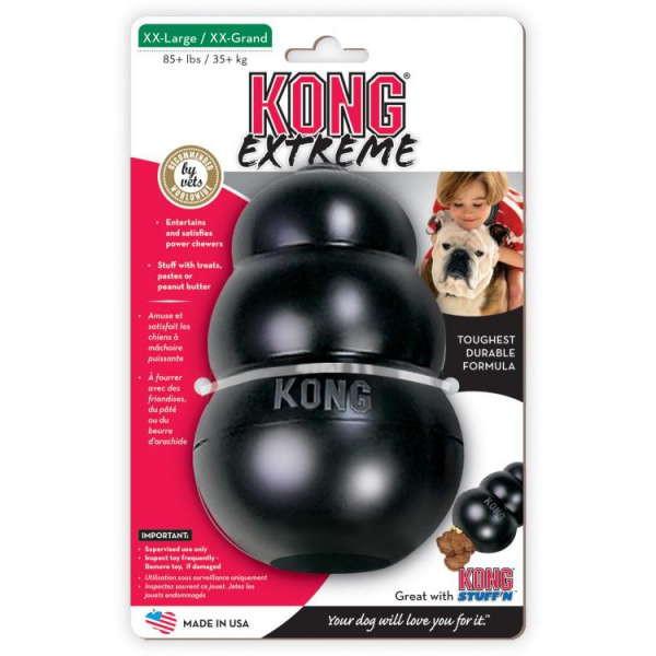 KONG Extreme (Конг Экстрим) - Игрушка из упрочнённого каучука для собак крупных пород