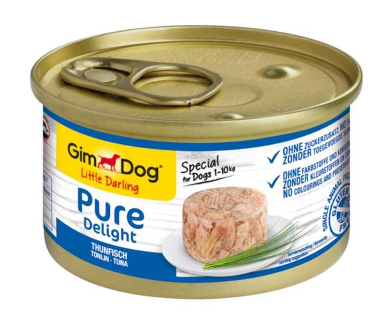 GimDog (Джим Дог) LITTLE DARLINGD Pure Delight Консервы для собак с тунцом