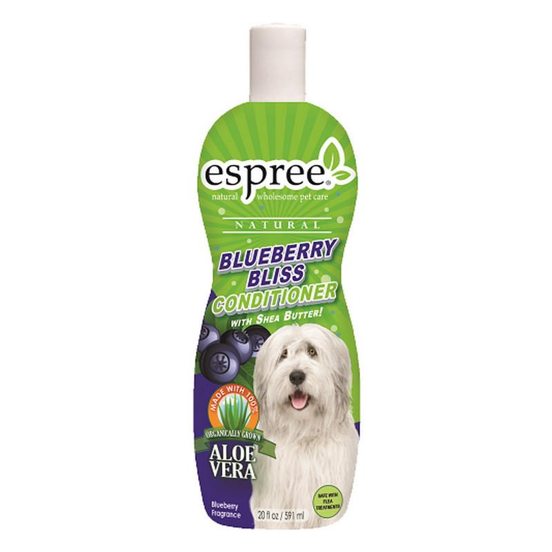 ESPREE (Эспри) Blueberry Bliss Conditioner with Shea Butter - Кондиционер «Черничное блаженство» с маслом Ши для ухода за кожей и шерстью котов и собак