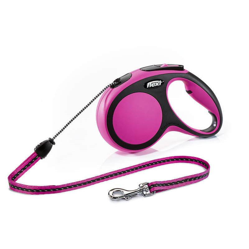Flexi (Флекси) New Comfort М - Поводок-рулетка для собак средних пород, трос (5 м, до 20 кг)