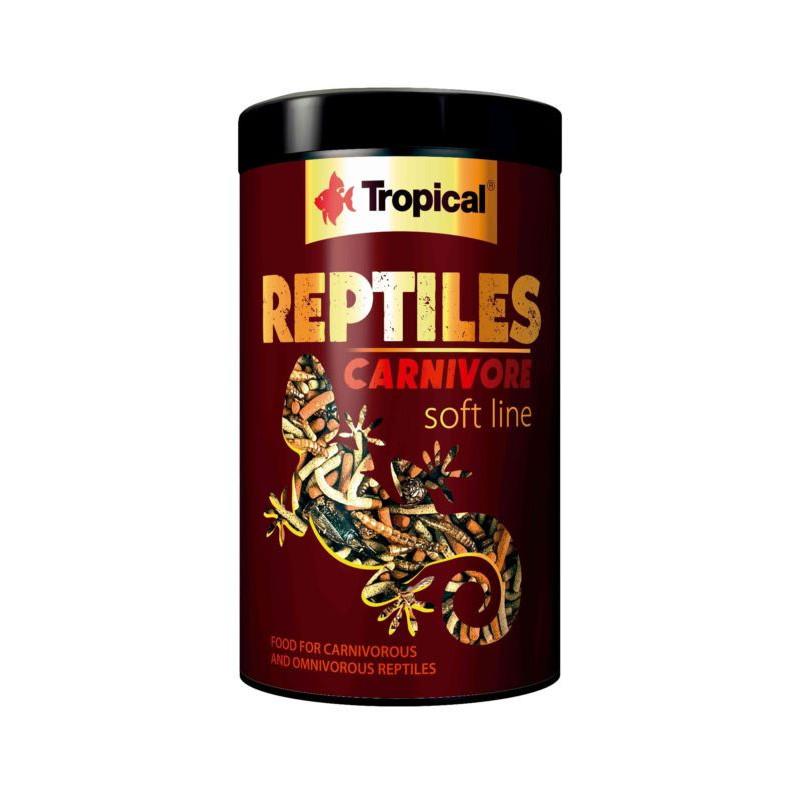 Корм TROPICAL REPTILES CARNIVOR SOFT для плотоядных черепах