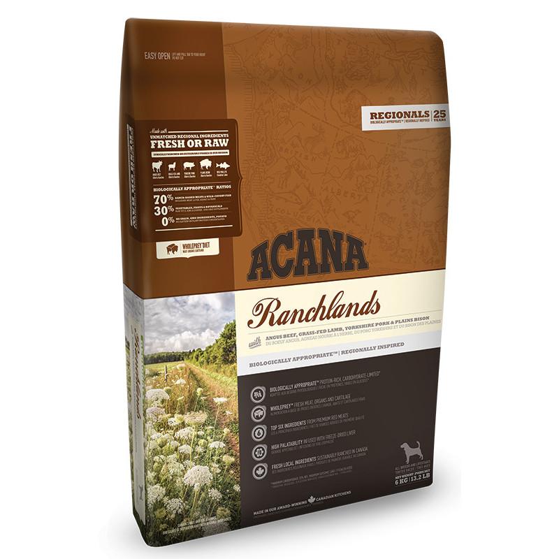 Acana Ranchlands Сухой корм для собак различных пород на всех стадиях жизни