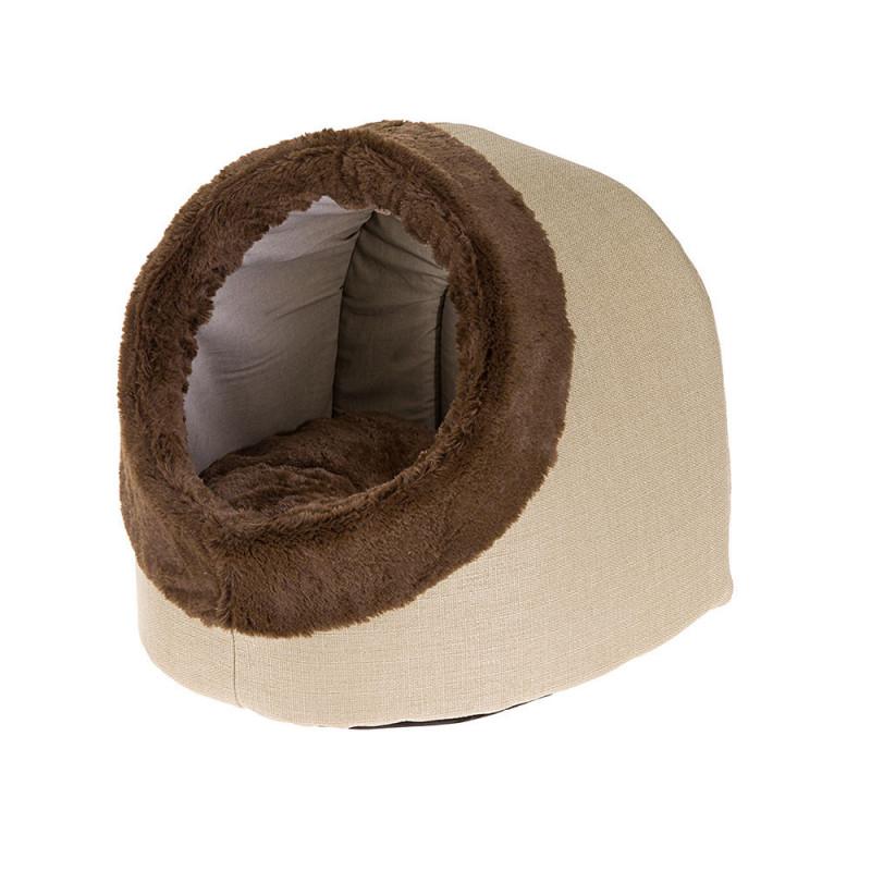 FERPLAST (Ферпласт) Imperial - Спальный меховой домик для кошек и собак маленьких пород