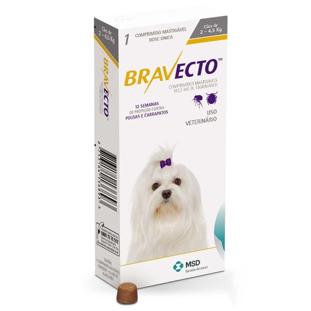 Bravecto (Бравекто) by MSD Animal Health - Противопаразитарные жевательные таблетки от блох и клещей для собак (1 таблетка) - Фото 8