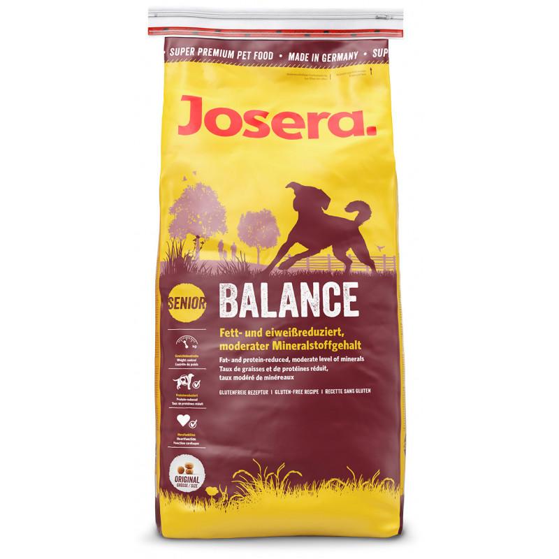Josera (Йозера) Senior Balance - Полноценный сухой корм для стареющих и малоактивных собак