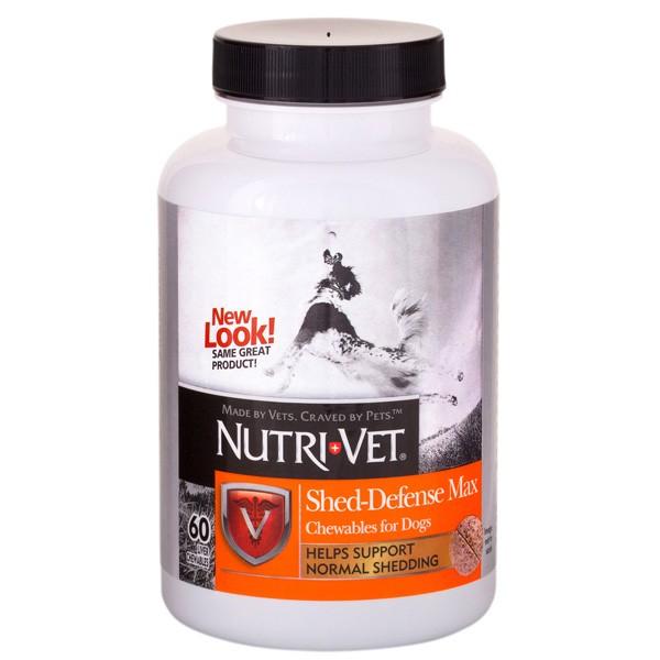 """Nutri-Vet (Нутри-Вет) Shed Defense Max. Витаминно-минеральная добавка для собак """"Защита Шерсти-Макс"""""""