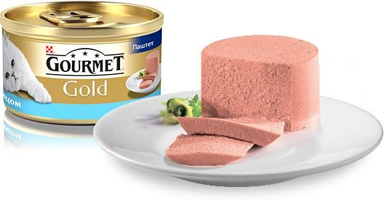 Gourmet Gold (Гурмэ Голд) - Консервированный корм паштет с тунцом для взрослых кошек - Фото 2