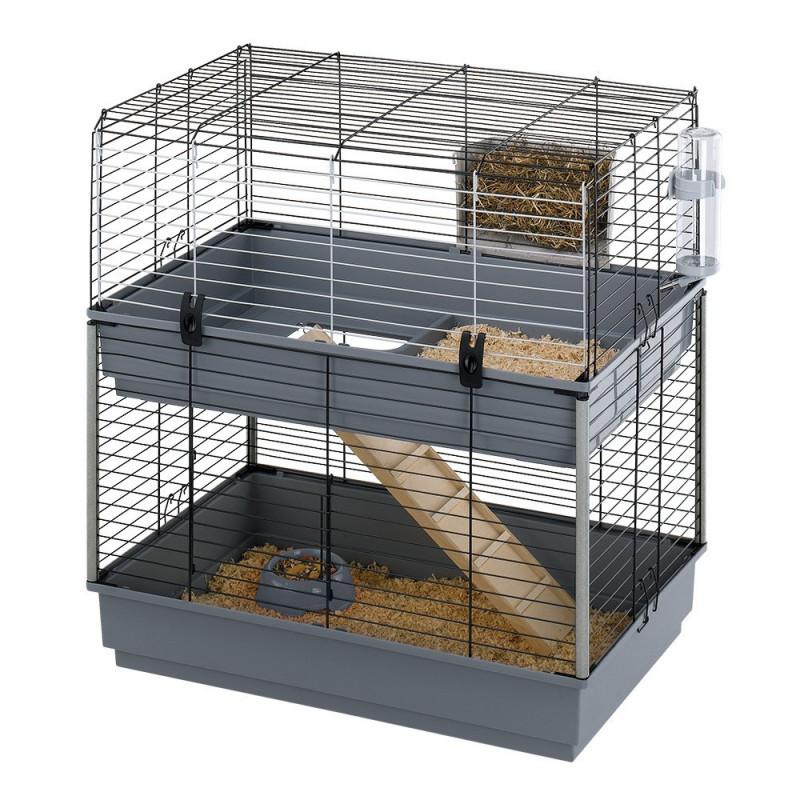Клетка для средних грызунов Ferplast (Ферпласт) Cavie 80 Double
