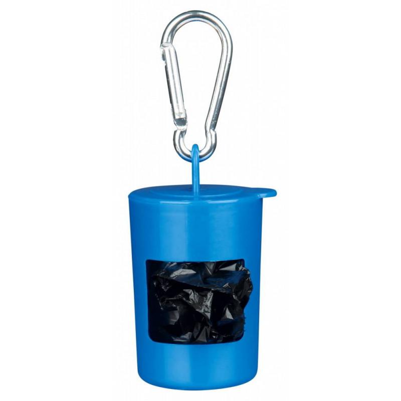 Trixie (Трикси) Контейнер пластиковый для уборочных пакетов + 40 шт - пакетов