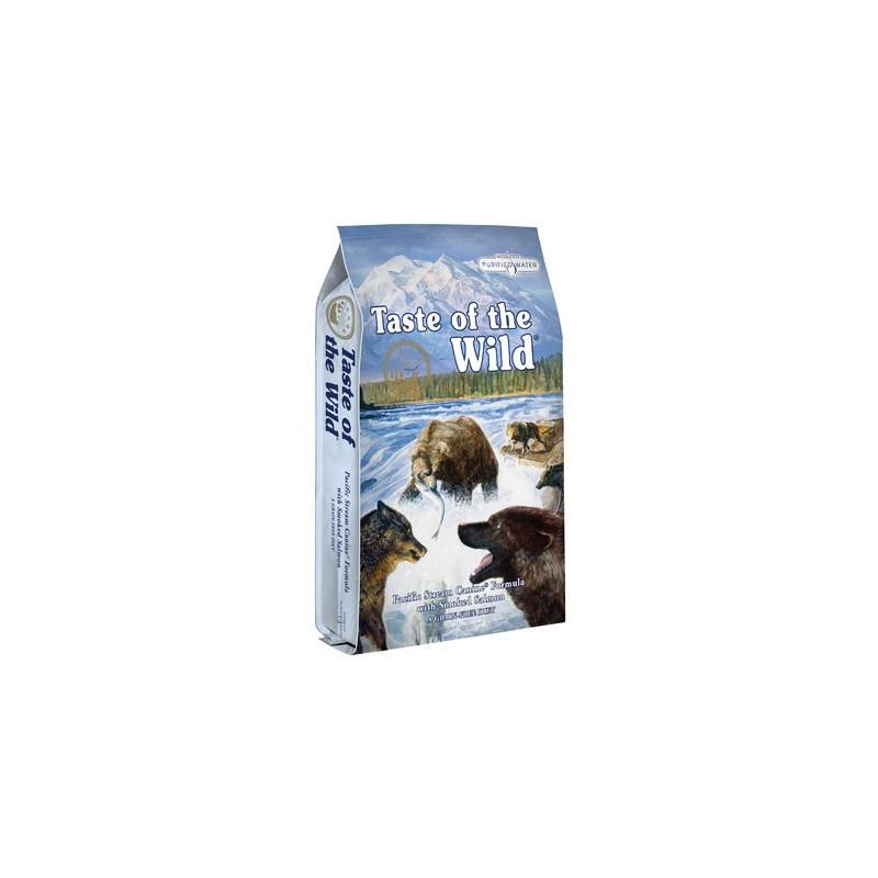 Taste of the wild Pacific stream canine formula - сухой корм для собак с копченым лососем
