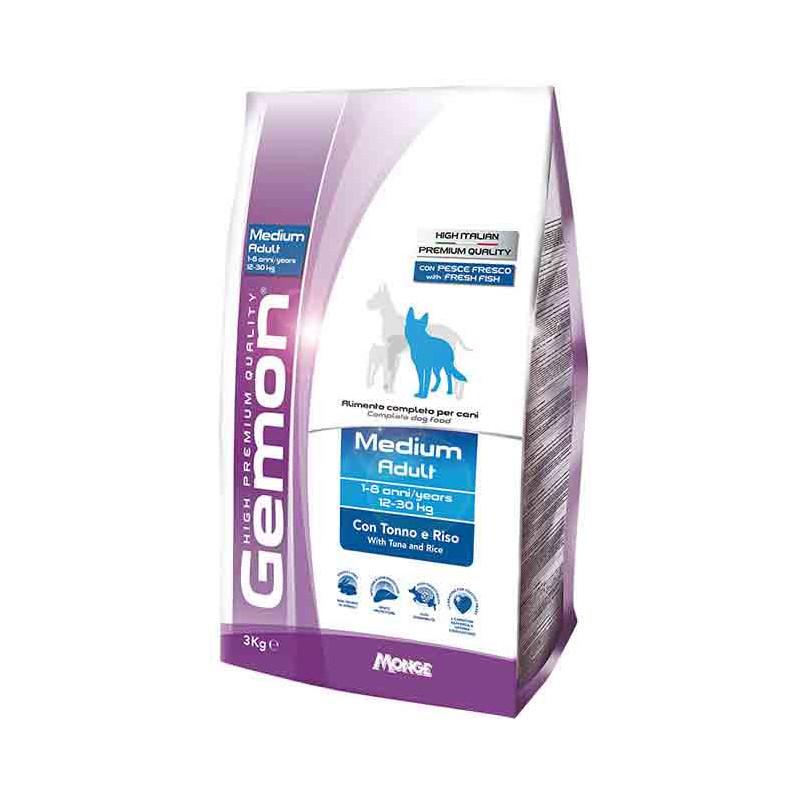 Gemon (Джемон) Medium Adult - Сухой корм для взрослых собак средних пород с тунцом и рисом