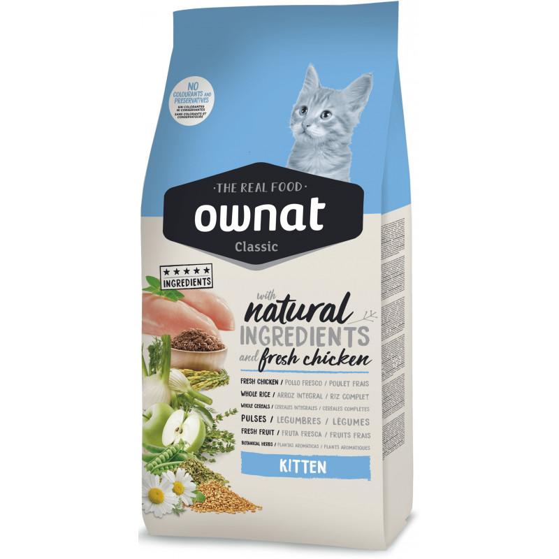 Ownat (Овнат) Classic Kitten - Сухой полнорационный корм с курицей для котят